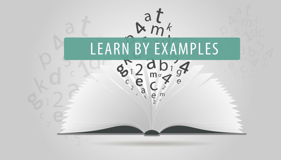 Learn by Examples
